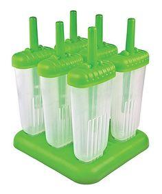 Look at this #zulilyfind! Green Groovy Pop Mold Set #zulilyfinds