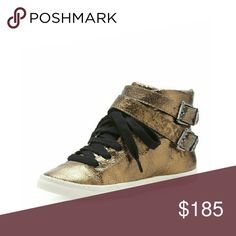 SCHUTZ Aila Bronze Sneakers Brand new. Size US 5. SCHUTZ Shoes Sneakers
