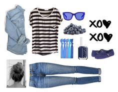 Xoxoxo by khopejohnston on Polyvore featuring polyvore, fashion, style, Current/Elliott, TOMS, Popband, Etnia Barcelona, Essie and clothing