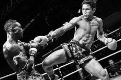 Photographe de boxe, Cyril Billet photographie la boxe Thai à Paris.