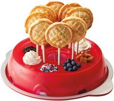 Tovolo Pie Pop Kit..I totally want this for parties and game night etc.