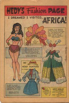 Comic book paper dolls - Bing Images