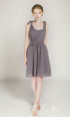 daa7243bd5 Short Convertible Bridesmaid Dress TBQP177P