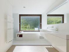 Badezimmer im Grünen
