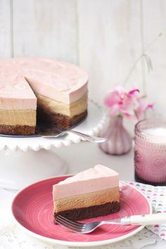Málnás csoki mousse torta – Albi Gasztro