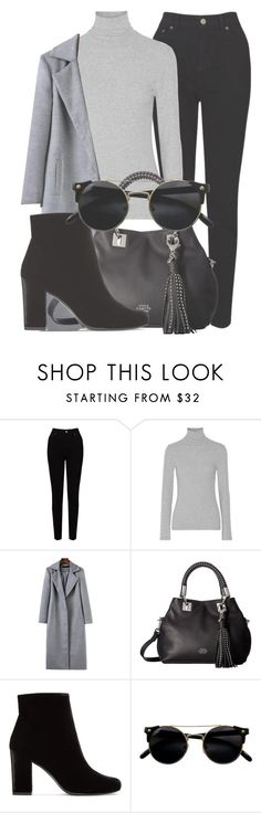 """Outfit #1564"" by lauraandrade98 on Polyvore featuring EAST, James Perse, Vince Camuto and Yves Saint Laurent"