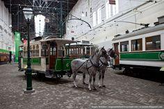 Сергей Мельников - Музей трамваев в Порту