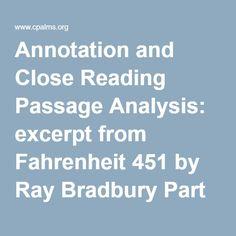reader responses for fahrenheit 451