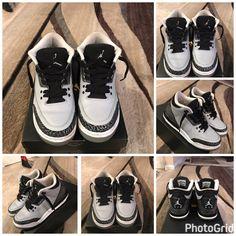 the latest 1436d bfe44 Air Jordan Shoes   Jordan 3 Retro Wolf Grey (Jordan 3 S)   Color  Black Gray    Size  6.5