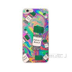 Phone Case For Apple iphone 5 5S SE 6 6S Plus Love Potion Chill Pills Transparent Plastic Back Cover For iphone 6S Fundas Shell #clothing,#shoes,#jewelry,#women,#men,#hats,#watches,#belts,#fashion,#style