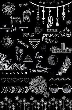 Imagen de wallpaper, black and white, and black
