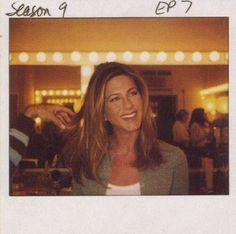 F.R.I.E.N.D.S — friendsfan22: Polaroids that Chris (Jennifer's...