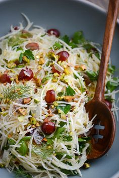 celery root fennel and grape salad - Ina Garten Fennel Salad