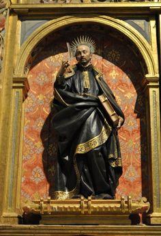 San Ignacio de Loyola de gregorio fernandez - Escultura Barroca Española