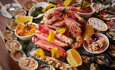 Fiola Mare Seafood Restaurant. Washington D.C. (USA). Excellent seafood restaurant, a few steps from Georgetown, the Kennedy Center and right on the waterfront. All seafood is outstanding. Pricy, so remember to bring your appetite and a thick wallet.