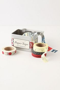Numbers Paper Tape #anthropologie
