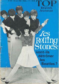 Les Rolling Stones vont-ils détrôner les Beatles ? - Top Réalités Jeunesse n°301, 23 août 1964
