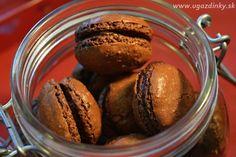 Čokoládové makrónky Muffin, Breakfast, Food, Morning Coffee, Essen, Muffins, Meals, Cupcakes, Yemek