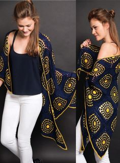 ergahandmade: Crochet Shawl Mandala + Diagrams