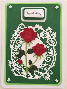 CBY Handmade - Happy Birthday greeting card.