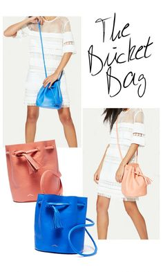 Summer bucket bag.