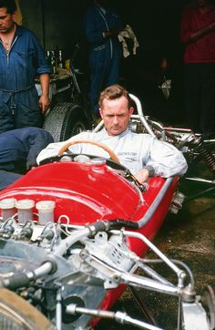 Phil Hill, German Grand Prix 1963. America's first Formula One World Champion.