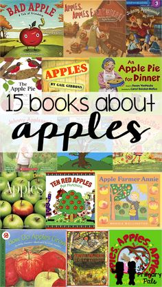 One of the best things to teach about in the fall is apples! There are so many fun books, songs, crafts, and activities that go along with apples.