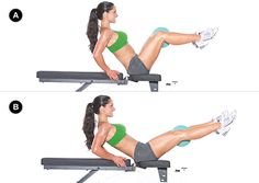 Abs and Calves Workout