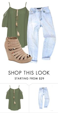 """Untitled #235"" by rileyhays1234 ❤ liked on Polyvore featuring WearAll and Madden Girl"