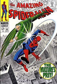 Old Spider-Man vs. Vulture.