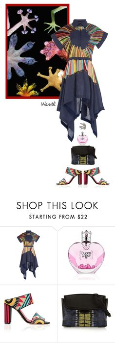 """Wambli Lizard"" by wambliwakan ❤ liked on Polyvore featuring Rahul Mishra, Oscar Tiye, Alexander Wang and Sylva & Cie"