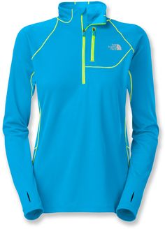 Perfect for training when it gets chilly—the women's Impulse Active Quarter-Zip top from The North Face.