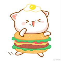 Cute Cats in the World Cute Kawaii Animals, Kawaii Cat, Chibi Cat, Cute Chibi, Kittens Cutest, Cute Cats, Cute Couple Cartoon, Cute Love Gif, Kawaii Doodles