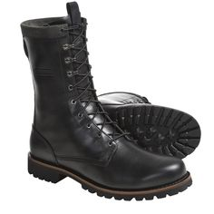 Timberland Abington Collection Logger Boots - Leather (For Men) in Black