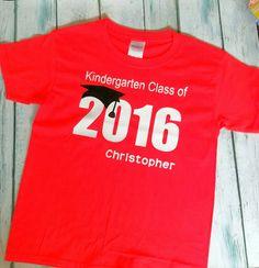 32f97e45c Kindergarten Graduation Shirt   Kindergarten by HarperRoseBoutique