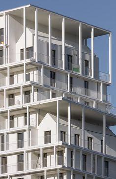 VINCENT PARREIRA - AAVP ARCHITECTURE, Aires Mateus, Luc Boegly · BAT - 170 housing units and shops