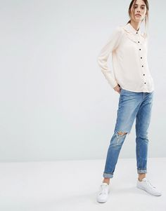 Vero Moda Ruffle Detail Shirt