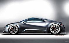 Wallpapers Audi Cars Original Design R Zero Concept Hd x