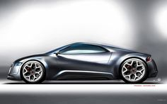 Wallpapers Audi Cars Original Design R Zero Concept Hd 1600x1000