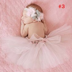 Full Fluffy Newborn Tutu Peach Matching Fabric Flower Headband Pearl Center Great Photo Prop 0 3 months Newborn Gift TS064-in Skirts from Mother & Kids on Aliexpress.com | Alibaba Group