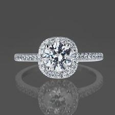 1 CT Diamond Engagement Ring Round ...