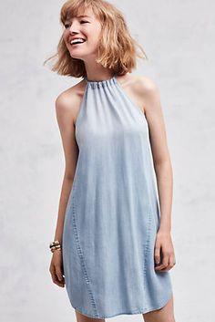 High-Tide Halter Dress