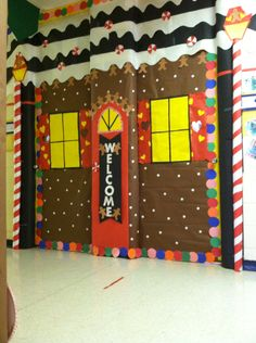 Door created by Miss Wanda E.  and Miss Chasity E.
