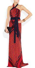 VionnetPrinted stretch-silk gown #BirksGlamCannes