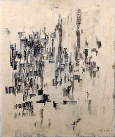 La rue Artist: Maria Helena Vieira da Silva Completion Date: 1956 Style: Tachisme Genre: abstract