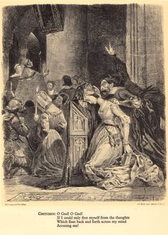 Delacroix's Rare Illustrations for Goethe's Faust | Brain Pickings