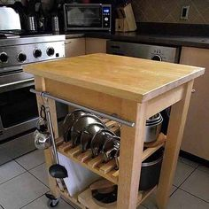 open shelving kitchen storage