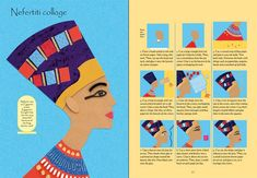 """Egyptian things to make and do"" at Usborne Children's Books Ancient Egypt Crafts, Ancient Egypt For Kids, Egyptian Crafts, Ancient Egyptian Art, Egyptian Things, Art Lessons For Kids, Art For Kids, Let's Make Art, 6th Grade Social Studies"