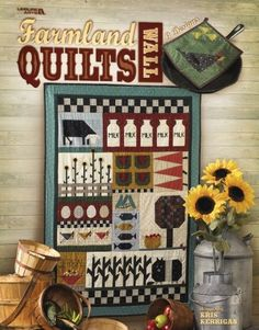 farmland quilts - christine pages - Picasa Web Albums Farm Quilt, Laundry Basket Quilts, Sewing Magazines, Crazy Quilt Blocks, Summer Quilts, Barn Art, Book Quilt, Quilted Wall Hangings, Ornament Crafts