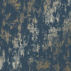 I Love Wallpaper Milan Metallic Wallpaper Charcoal Gold - Wallpaper from I Love Wallpaper UK Navy Bedroom Wallpaper, Blue And Gold Wallpaper, Look Wallpaper, Pattern Wallpaper, Gold Wallpaper Living Room, Gold Wallpaper For Home, Grey Wallpaper Bathroom, Bedroom Wallpaper Feature Wall, Gold Effect Wallpaper
